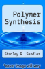 cover of Polymer Synthesis (2nd edition)