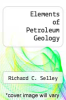 cover of Elements of Petroleum Geology (2nd edition)