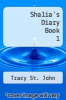 cover of Shalia`s Diary Book 1