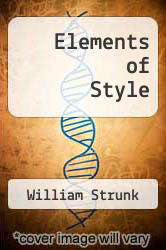 Cover of The Elements of Style EDITIONDESC (ISBN 978-1494909901)
