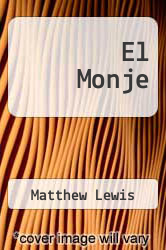 El Monje by Matthew Lewis - ISBN 9781494930509
