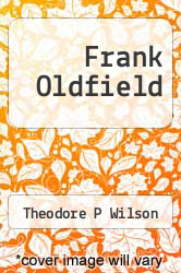 Cover of Frank Oldfield  (ISBN 978-1495312311)