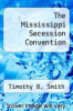 cover of The Mississippi Secession Convention