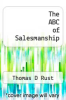 cover of The ABC of Salesmanship