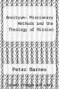 cover of Aneityum: Missionary Methods and the Theology of Mission