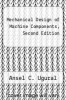 cover of Mechanical Design of Machine Components, Second Edition (2nd edition)