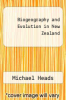 cover of Biogeography and Evolution in New Zealand