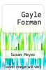 cover of Gayle Forman