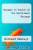 cover of Voyages in Search of the North-West Passage