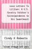 cover of Love Letters To Lillian: A U.S. Cavalry Soldier`s Correspondence to His Sweetheart