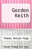cover of Gordon Keith