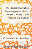 cover of The Indestructible Encouragement Book: Poems, Prose, and Pieces of Wisdom
