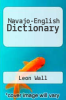cover of Navajo-English Dictionary