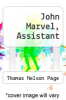 cover of John Marvel, Assistant