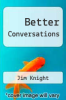cover of Better Conversations