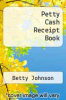 cover of Petty Cash Receipt Book