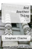 cover of And Another Thing ...