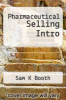 cover of Pharmaceutical Selling Intro