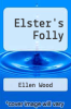 cover of Elster`s Folly