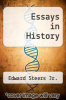 cover of Essays in History