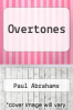 cover of Overtones
