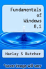cover of Fundamentals of Windows 8,1