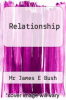 cover of Relationship