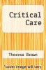 cover of Critical Care
