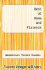 cover of Best of Rome and Florence