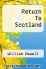 cover of Return To Scotland
