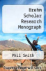 cover of Brehm Scholar Research Monograph