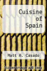 cover of Cuisine of Spain