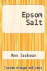 cover of Epsom Salt