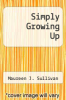 cover of Simply Growing Up