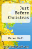 cover of Just Before Christmas