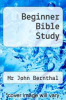 cover of Beginner Bible Study