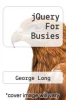 cover of jQuery For Busies