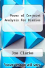cover of Power of Conjoint Analysis For Bizzies