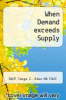 cover of When Demand exceeds Supply