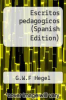 cover of Escritos pedagogicos (Spanish Edition)