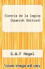 cover of Ciencia de la logica (Spanish Edition)