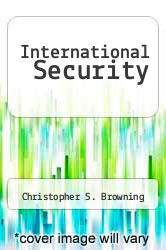 International Security by Christopher S. Browning - ISBN 9781531810948