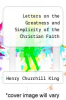 cover of Letters on the Greatness and Simplicity of the Christian Faith