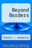 cover of Beyond Borders