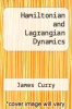 cover of Hamiltonian and Lagrangian Dynamics