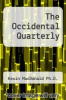 cover of The Occidental Quarterly