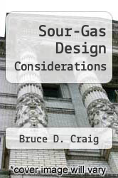 Cover of Sour-Gas Design Considerations EDITIONDESC (ISBN 978-1555630447)