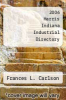 cover of 2006 Harris Indiana Industrial Directory