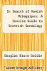 cover of In Search of Hamish Mcbagpipes: A Concise Guide to Scottish Genealogy