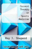 cover of Current Therapy in Sports Medicine (2nd edition)